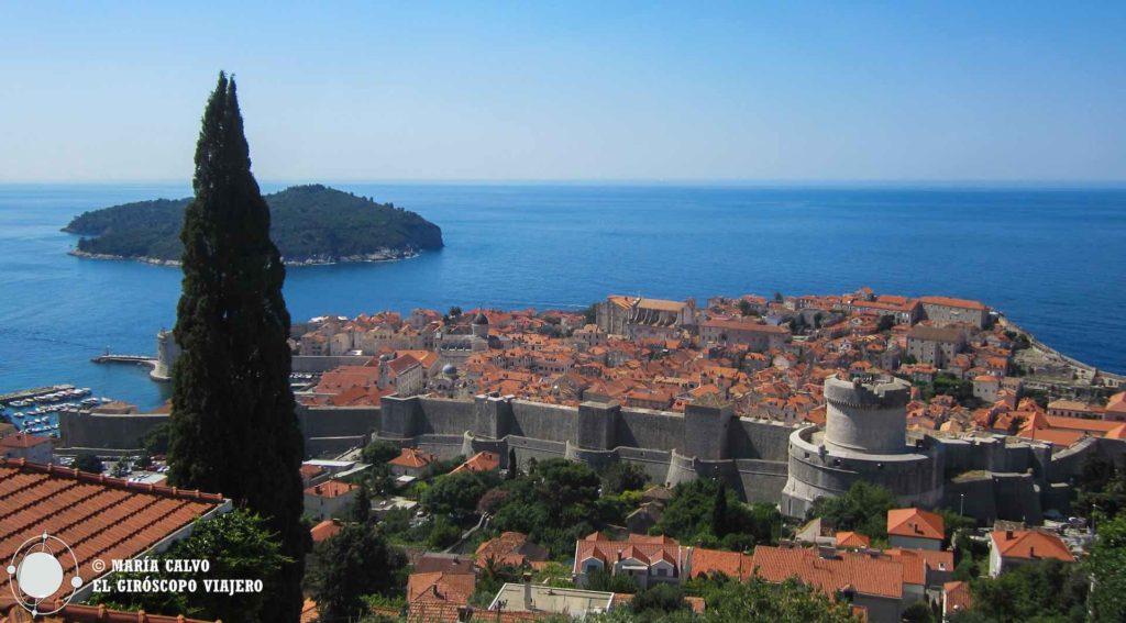 La merveille de Dubrovnik, perle de l'Adriatique