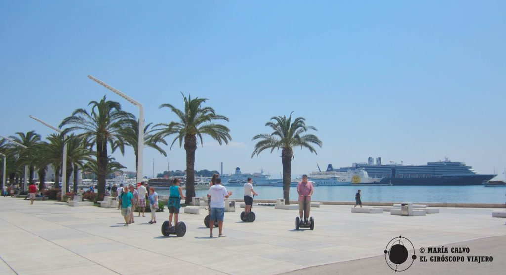 La magnifique promenade maritime de Split