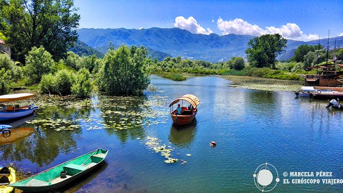 Le lac de Skadar, le plus grand lac des Balkans se situe au sud du Monténégro
