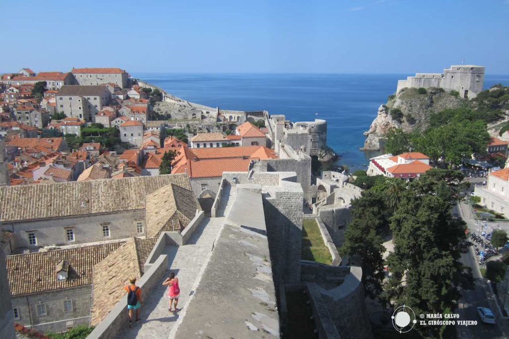 Magnifiques les remparts de Dubrovnik