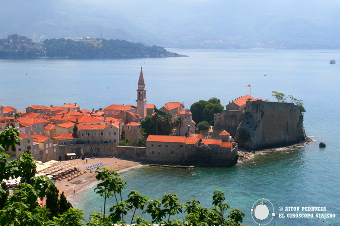 La belle Budva, au Montenegro