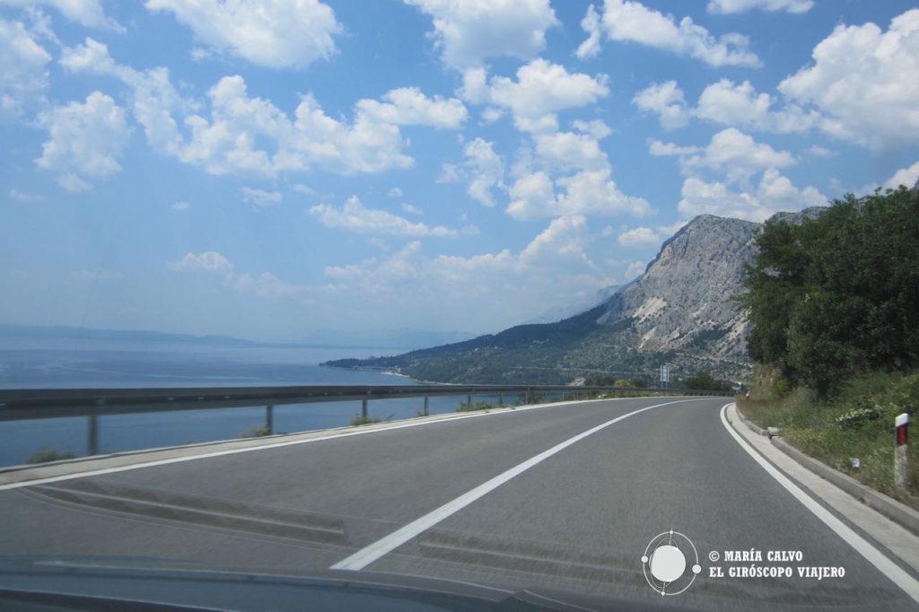 La ruta de la côte Dalmate