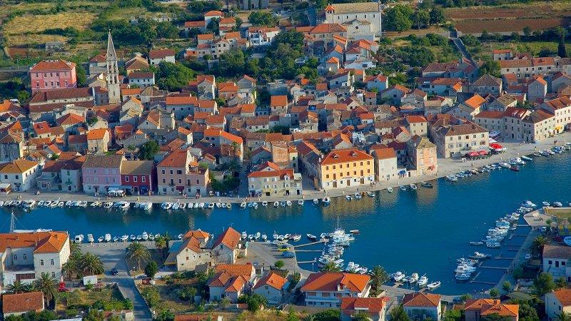 Splendide la Vieille Ville de Stari Grad