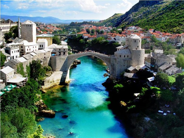Splendide la ville de Mostar